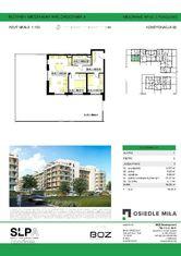 Przestronne mieszkanie w Inwestycji Osiedle Miła