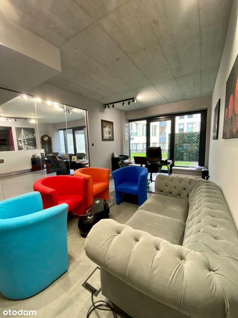 Luksusowe Biuro z dużym tarasem na Powiślu