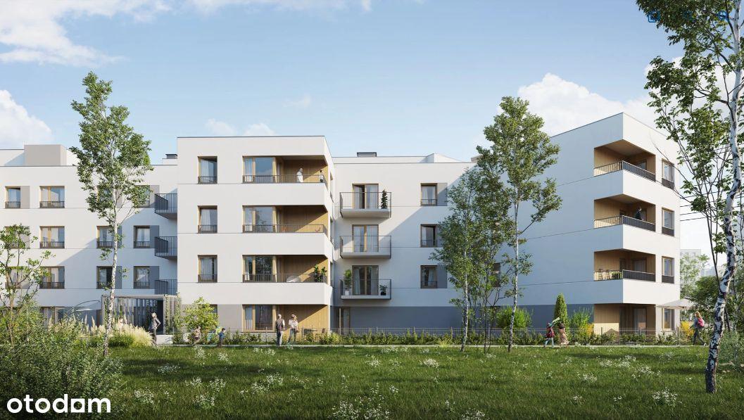 przestrzenne mieszkanie z antresolą i tarasem 20m2