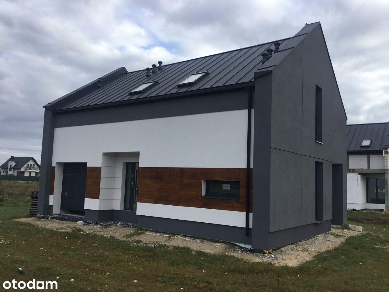 Nowe domy jednorodzinne w Borkach Siedleckich