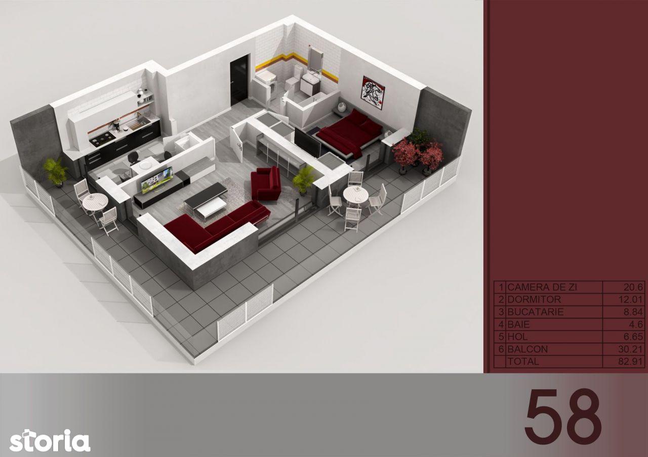 Apartament 2 camere-Metrou Titan -PARC I.O.R.