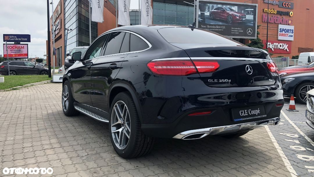 Mercedes-Benz GLE GLE350d 4MATIC Coupé, Pakiet AMG, Pojazd demonstracyjny dealera! - 3