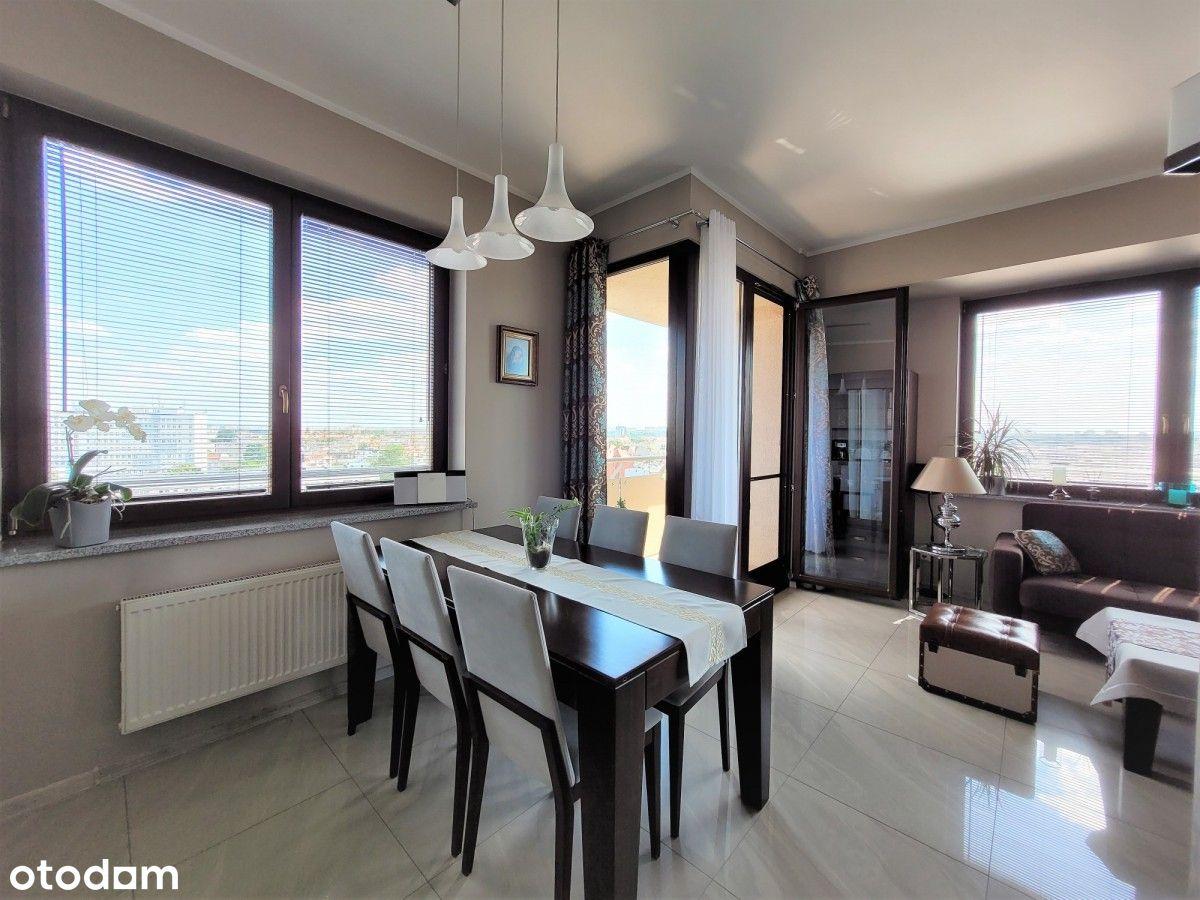 3 pokoje 80m2, dwa balkony, 7 piętro Nordic Tower