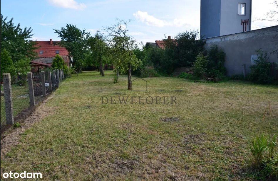 Zadbana działka budowlana 1381m2 Gliwice Ostropa