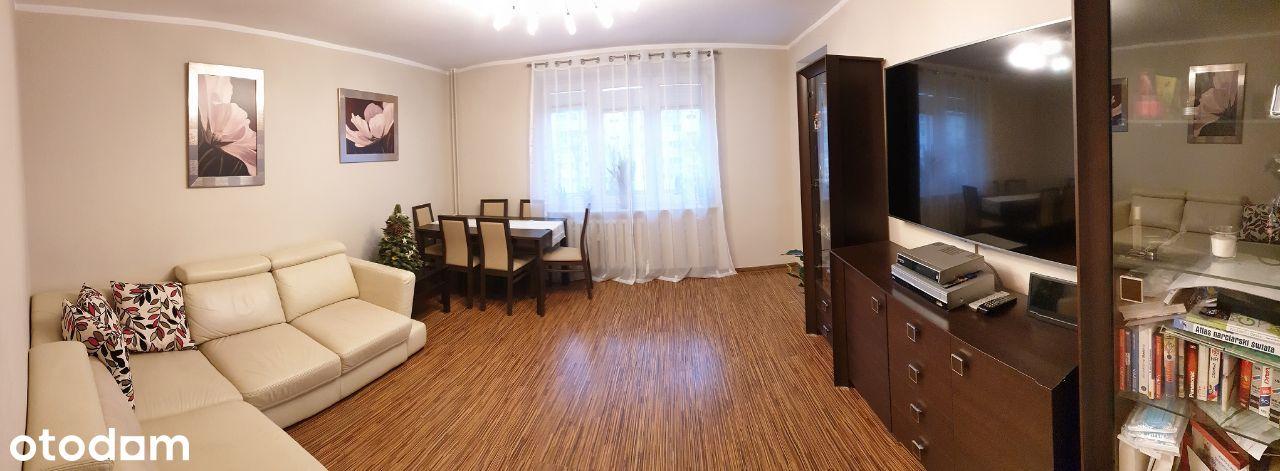 Umeblowane mieszkanie 3 pokoje os. Piastów parking