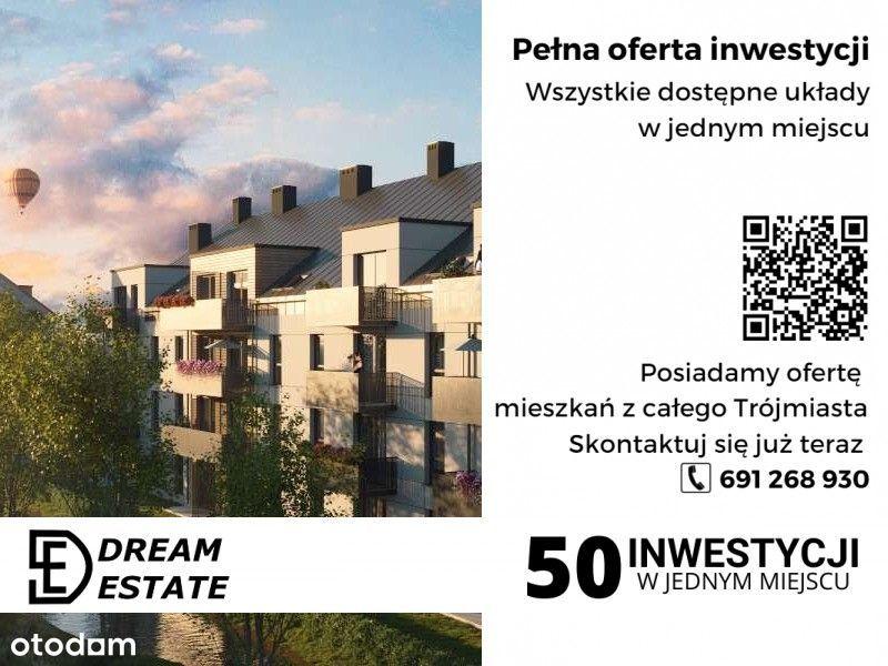 Trzy pokoje na zielonej i kameralnej inwestycji