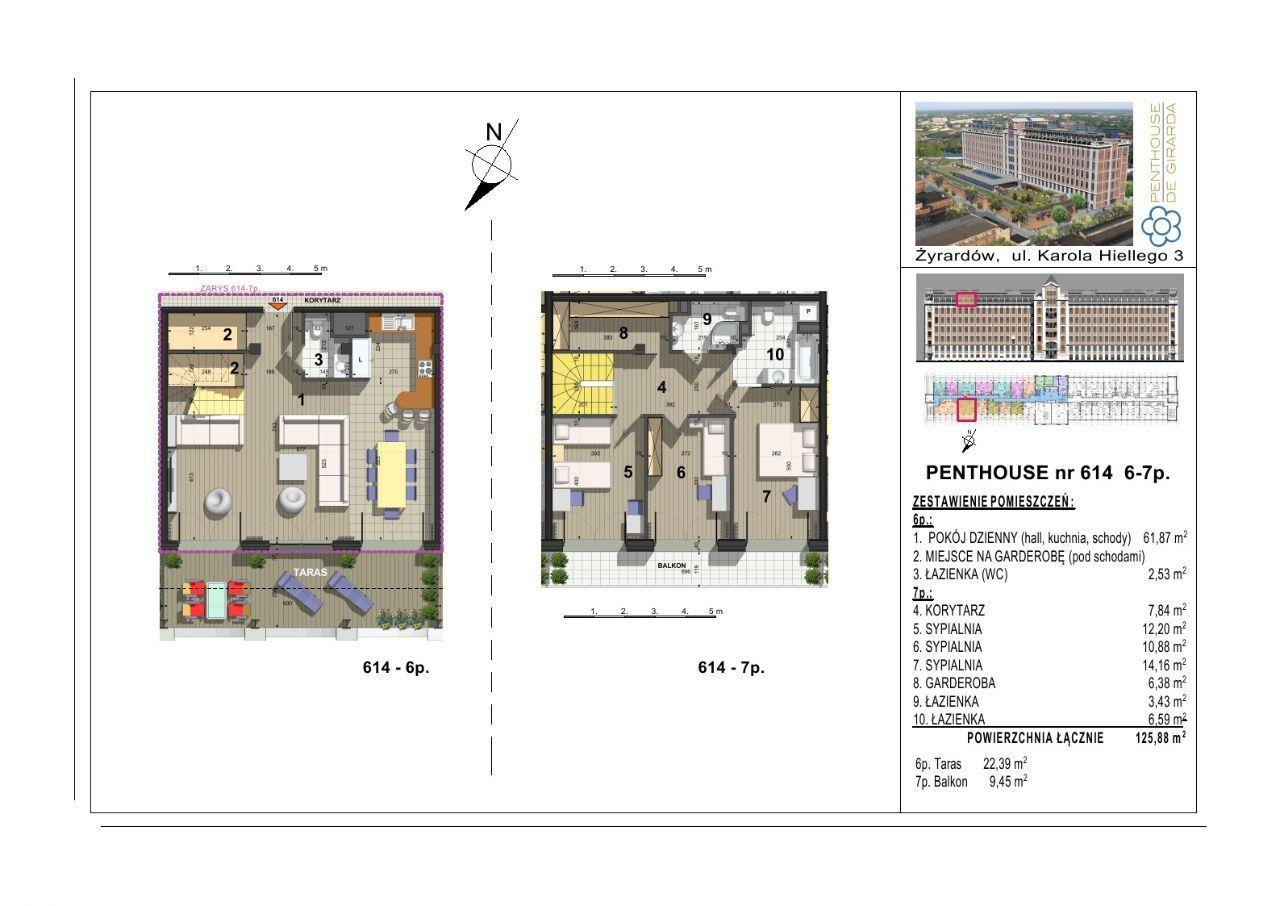 614 Penthouse de Girarda 25min do Centrum Warszaw
