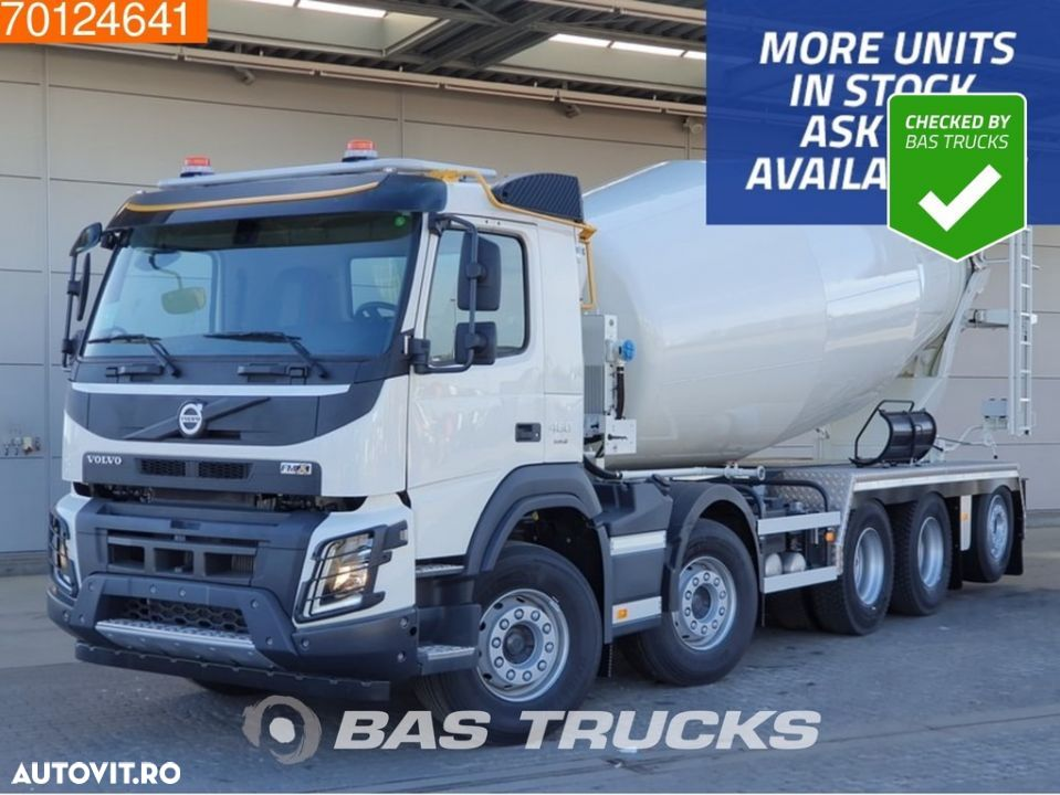 Volvo FMX 460 10X4 More units available! 15m3 Schwing Stetter 10X4 VEB+ Euro 6 - 1