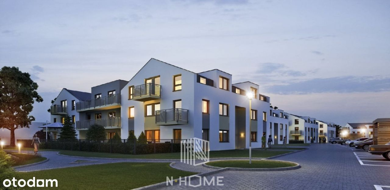 Duże mieszkanie z tarasem i balkonem