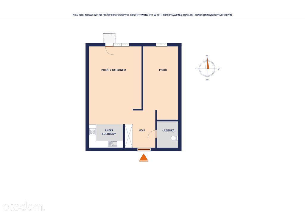 Mieszkanie 38 m2 końcowa stacjia II lini metra