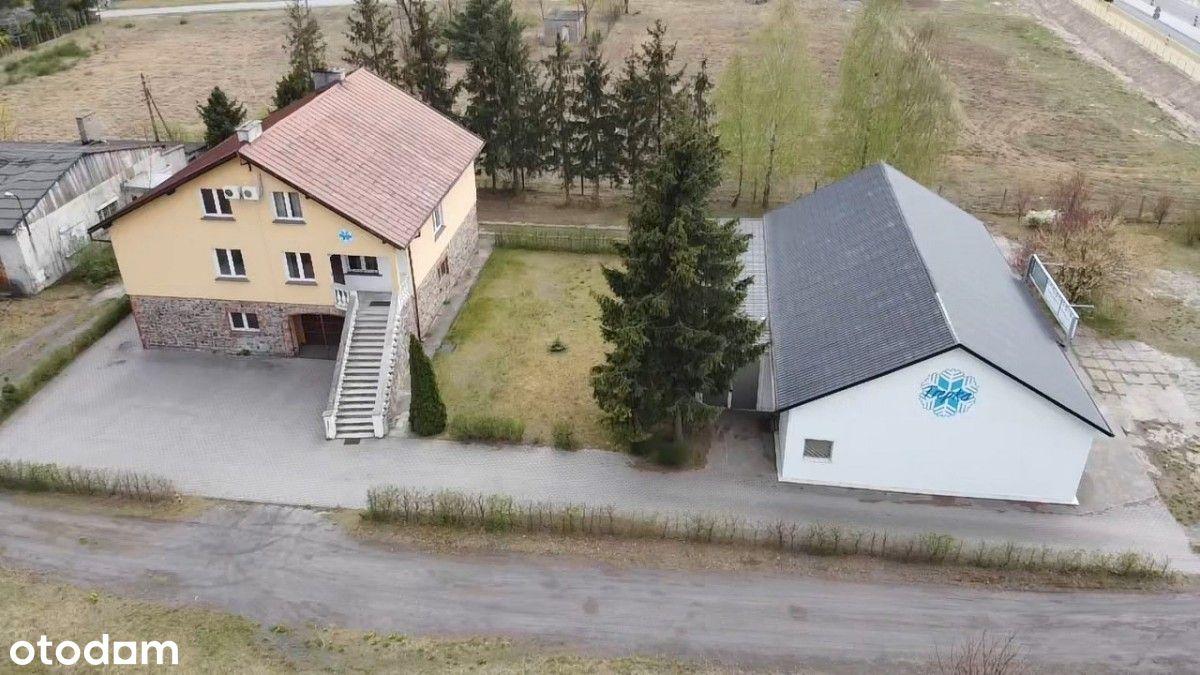 Obiekt usługowo-mieszkalny na działce 2233 m2 Niwy