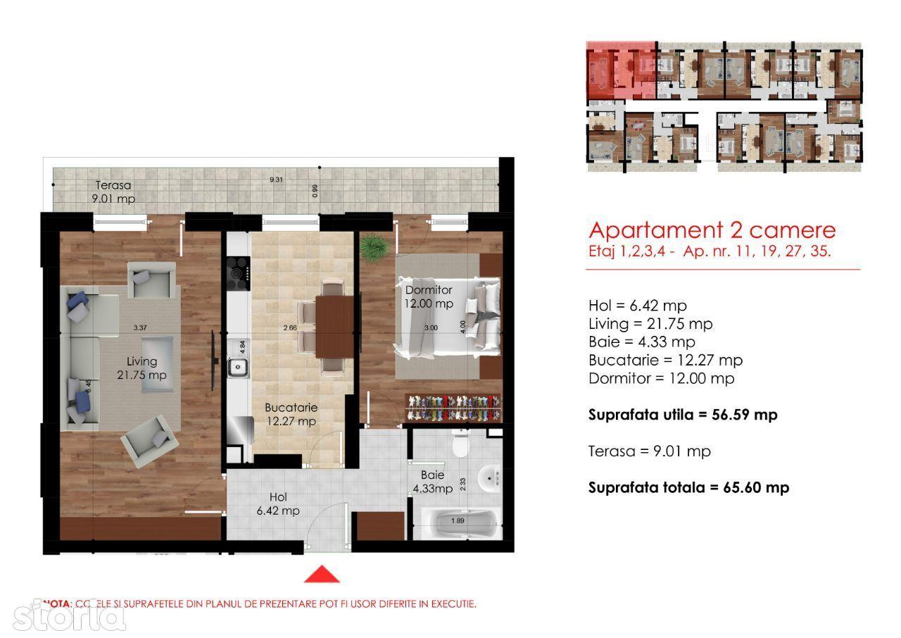 Apartament 2 camere,Metrou Berceni