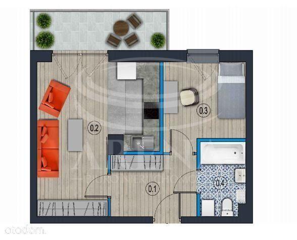 Dwupokojowe mieszkanie na nowym osiedlu!