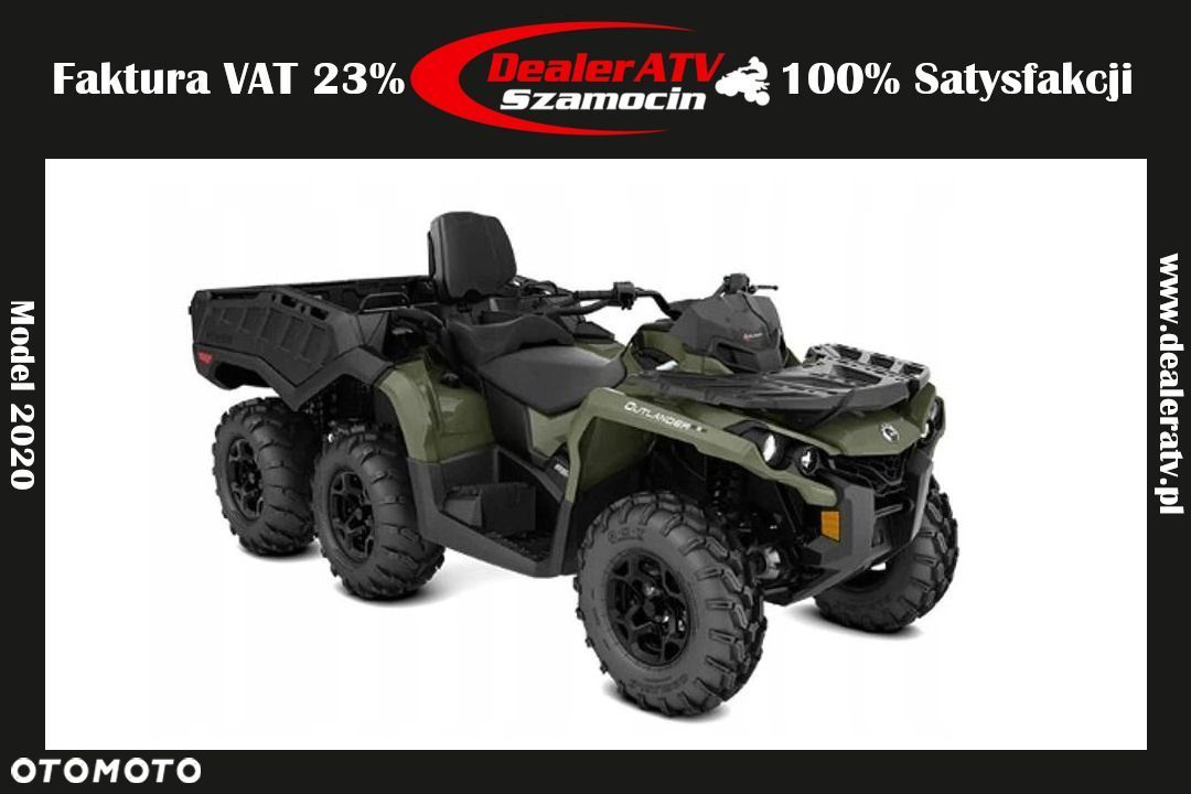 Can-Am Outlander Max 6X6 650 PRO+ T 2020 FV23% - 1