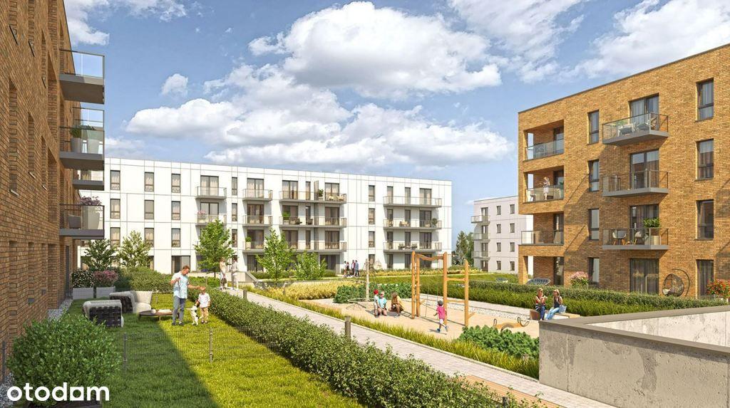 Mieszkanie 3-pokoje z ogródkiem w nowej inwestycji