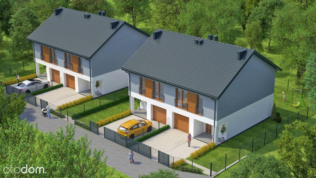 Dom, segment 124,1m2, garaż, ogródek