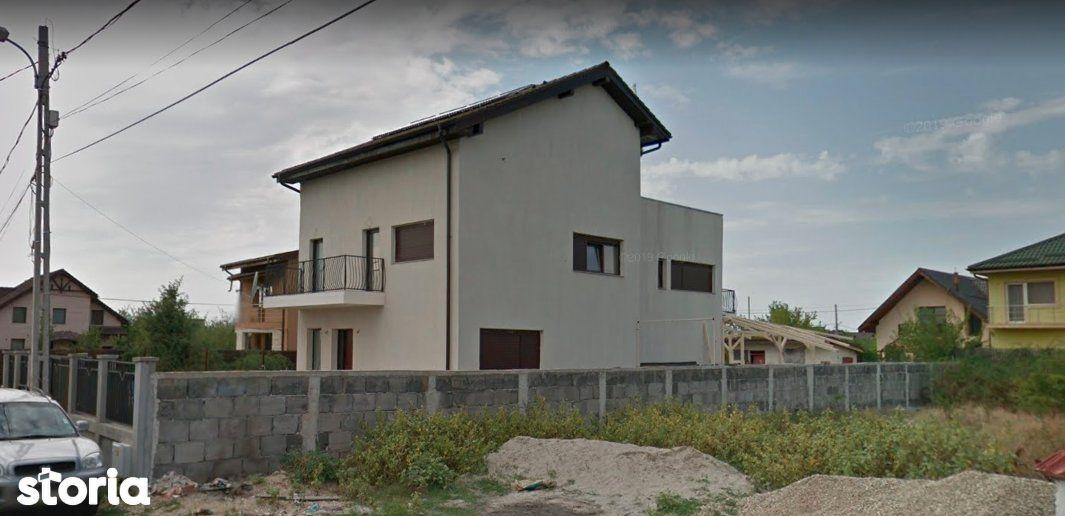 Casa P+1E+M - 268m² + Teren - 500m², Mogosoaia|Licitatie publica
