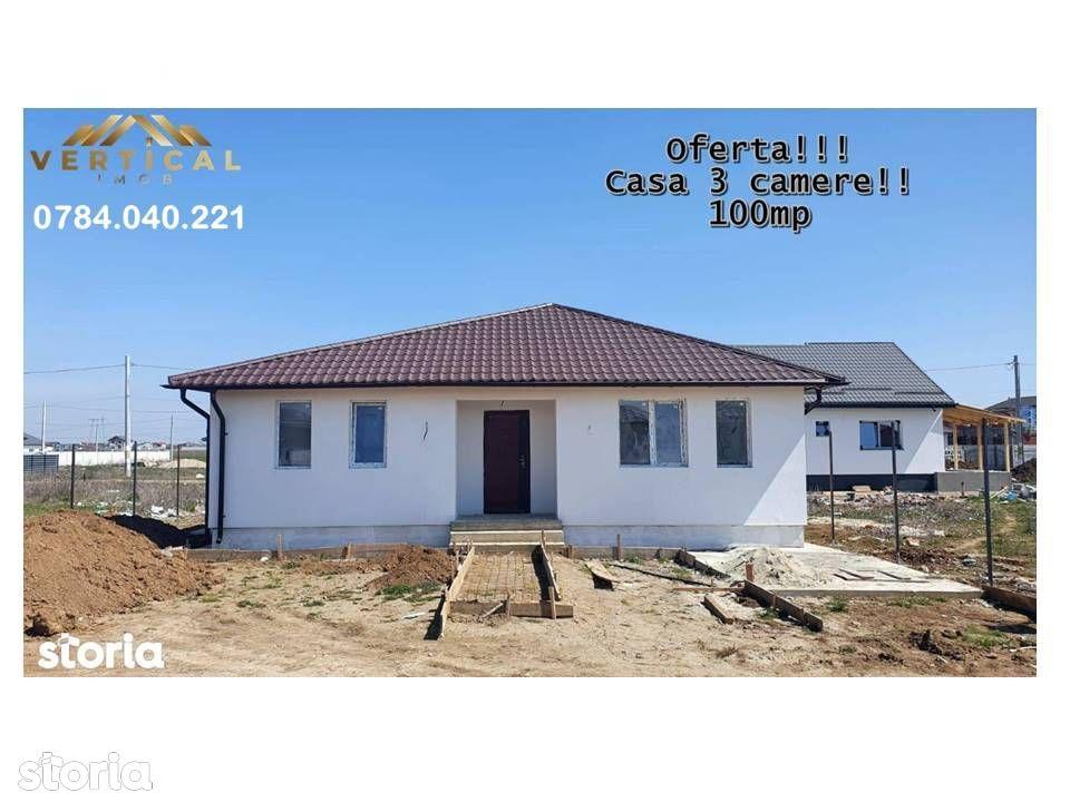 Casa pret apartament, 3 camere- teren 255mp-Vidra-Comuna Berceni