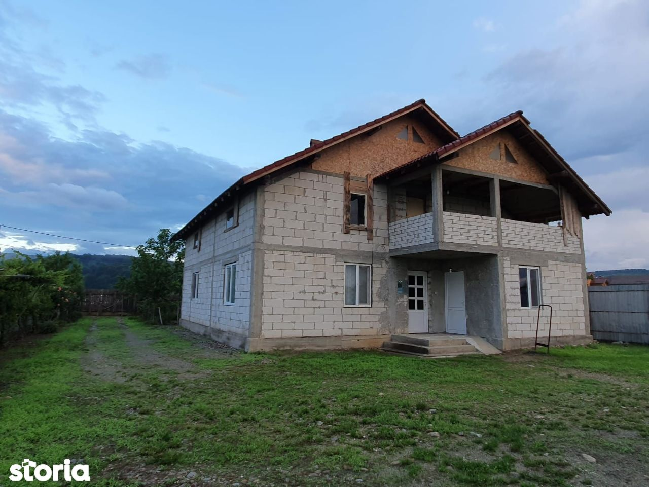 Casa P+M Turcinești teren 4.000 mp