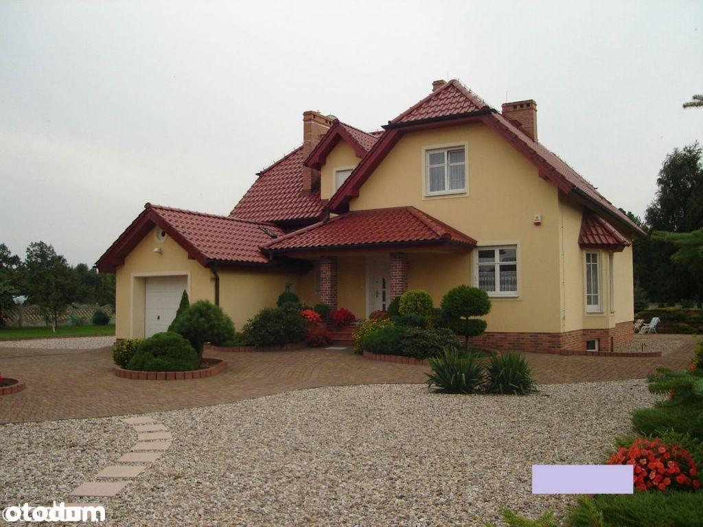Żagań, działka 9201m2, dom 320m2 z garażem