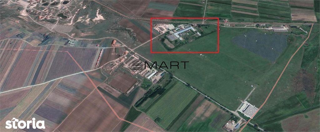 Spatii industriale 63000mp Ocna Sibiului