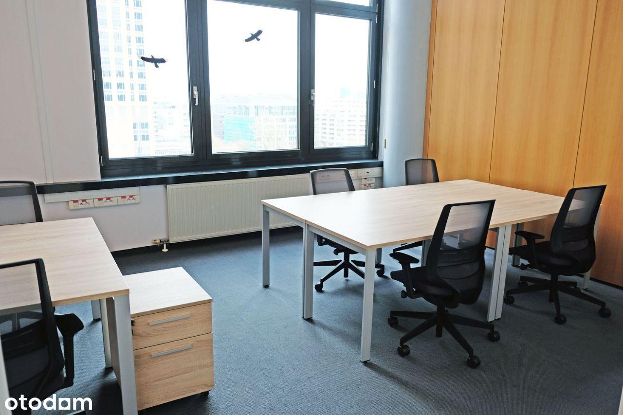 Biurowiec w centrum Warszawy, biuro dla 5 osób