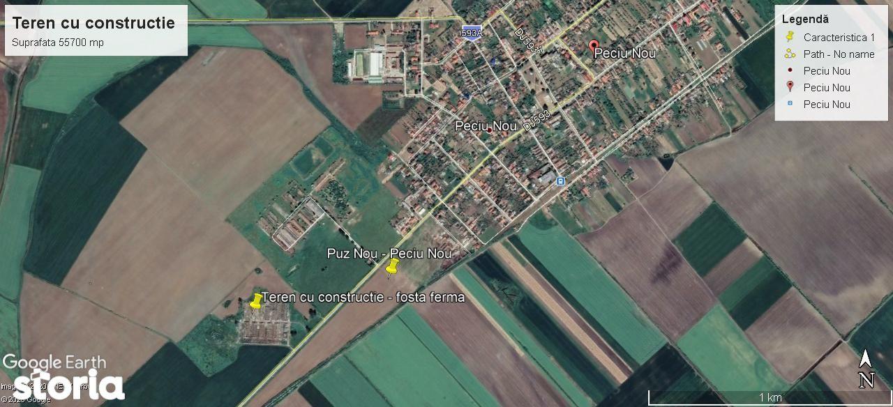 Teren, 55 700 m²,