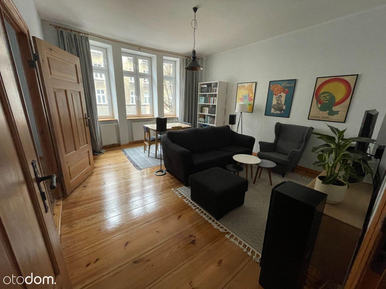 Klimatyczne mieszkanie w kamienicy. 2 pokoje. 58m2