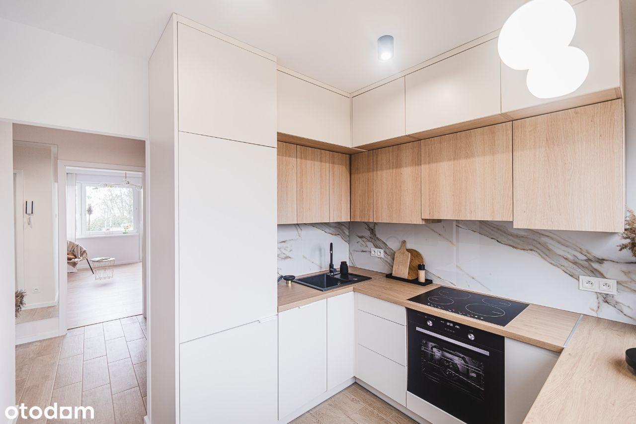 Rozkładowe 3-pokojowe mieszkanie z osobną kuchnią