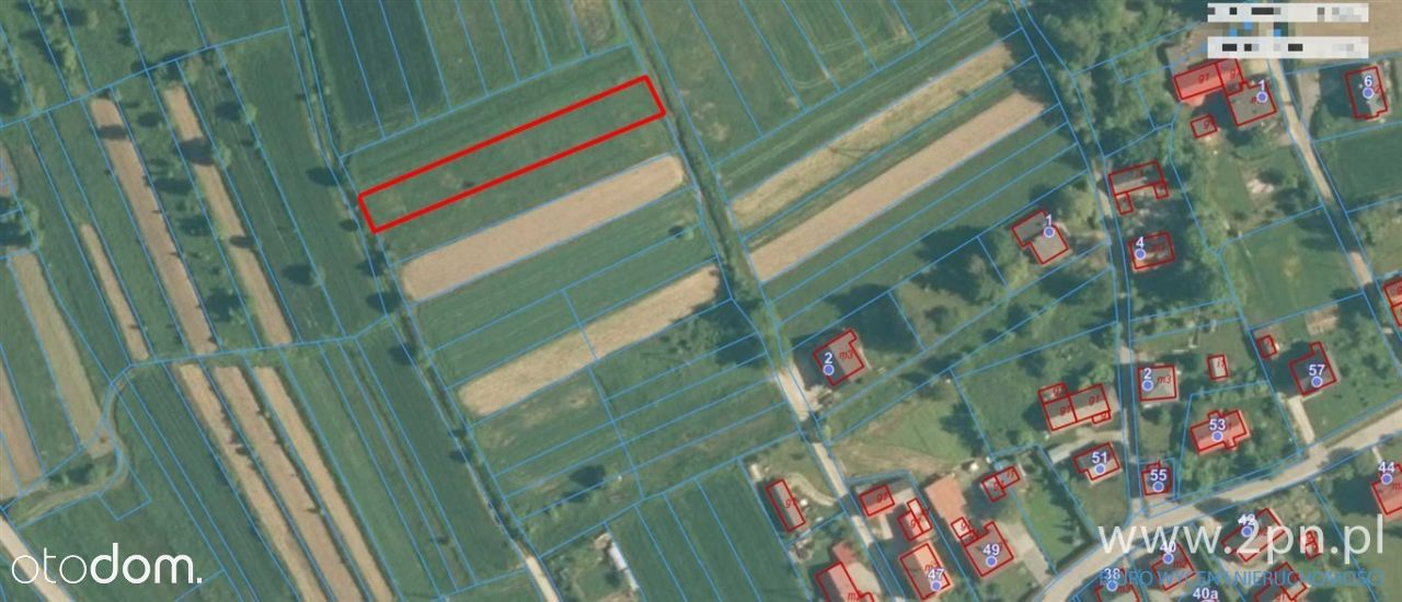 Działka, 1 000 m², Ślemień