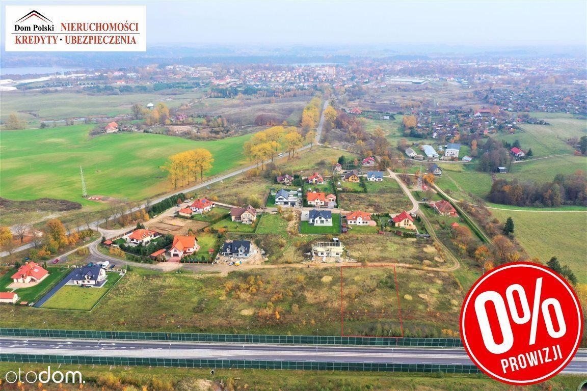 Działka budowlana o pow. 1383 m2 - Olecko Kolonia