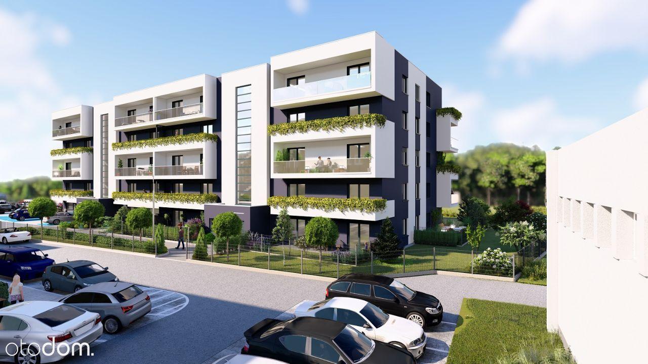 Luksusowe 2 pokojowe mieszkanie z ogródkiem