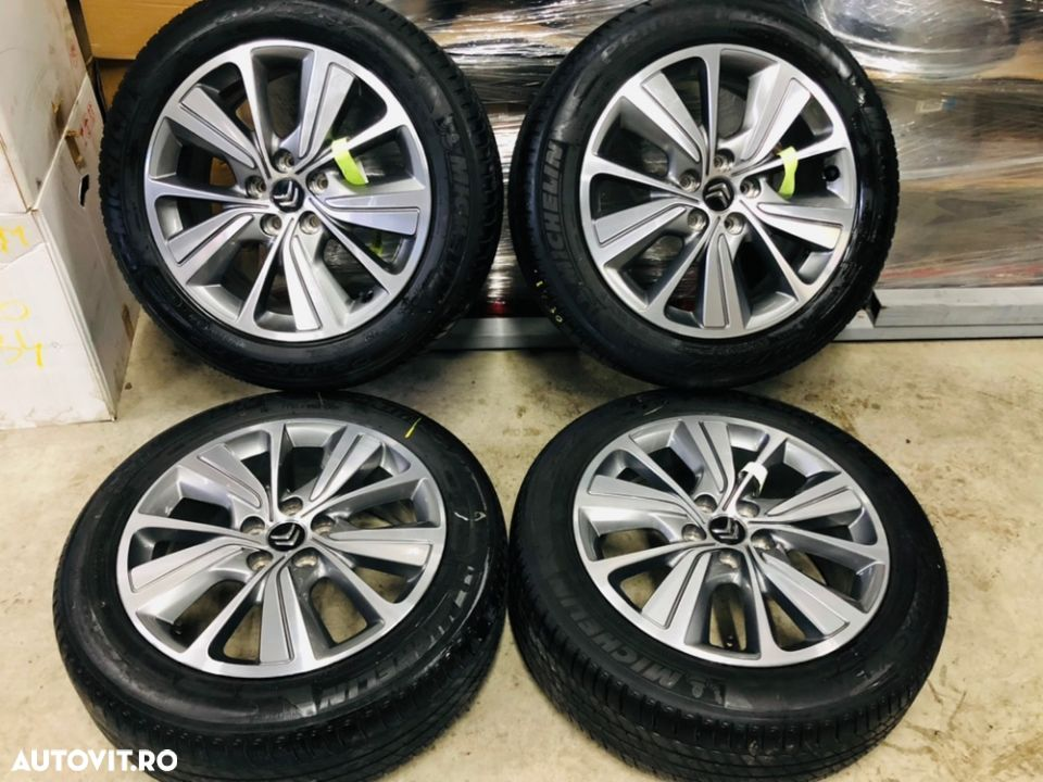 "Jante Citroën C4 Picasso , Grand Picasso , originale , 17"", anvelope vara Michelin - 1"