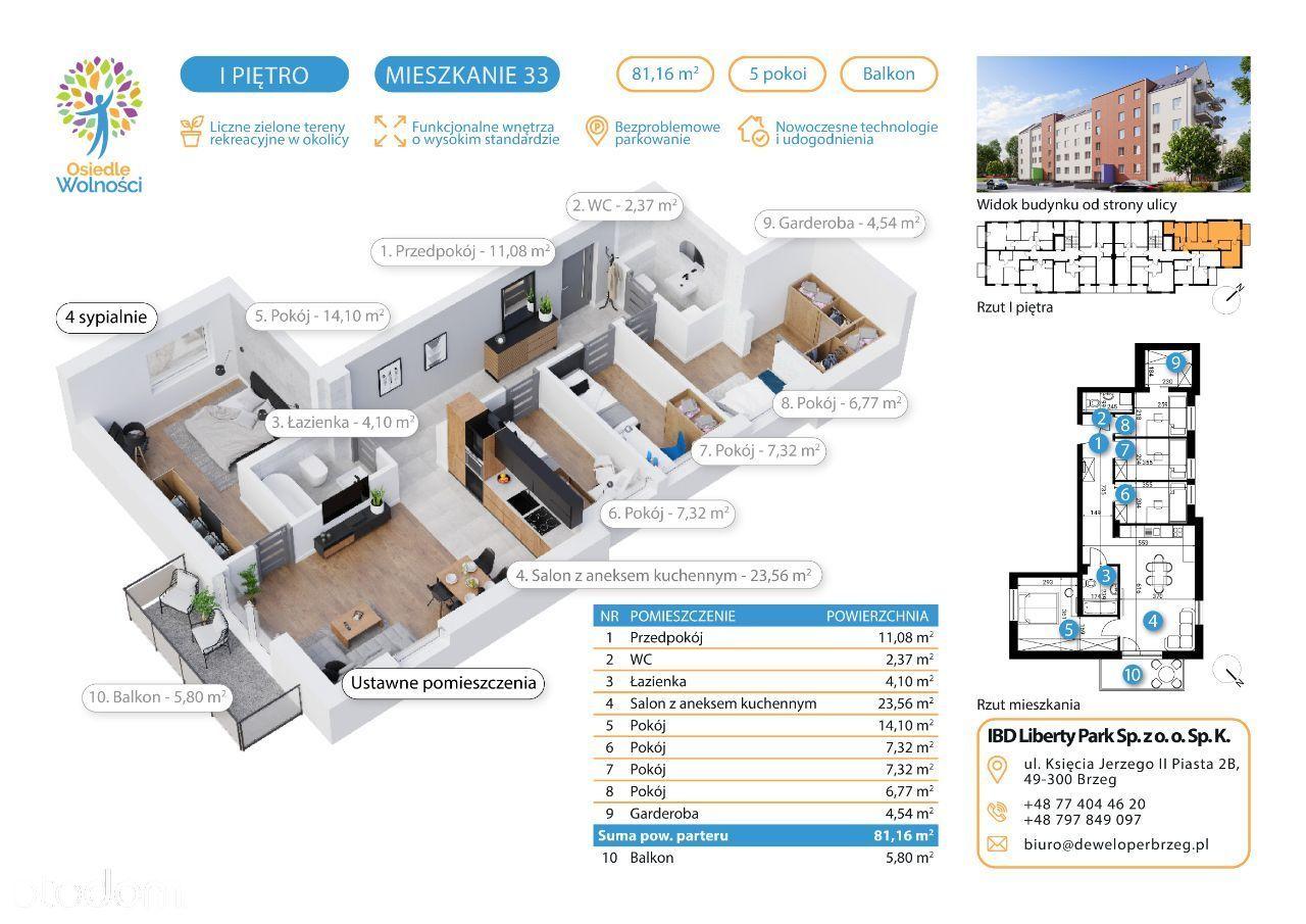Typ 14 - mieszkanie nr 37