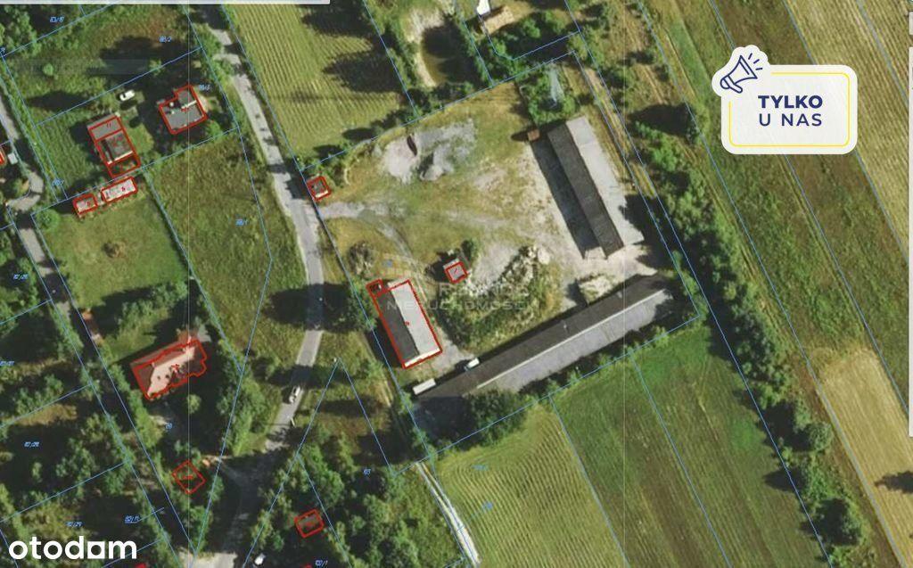 Działka usługowa 8600 m2, gm. Czosnów, trasa S7