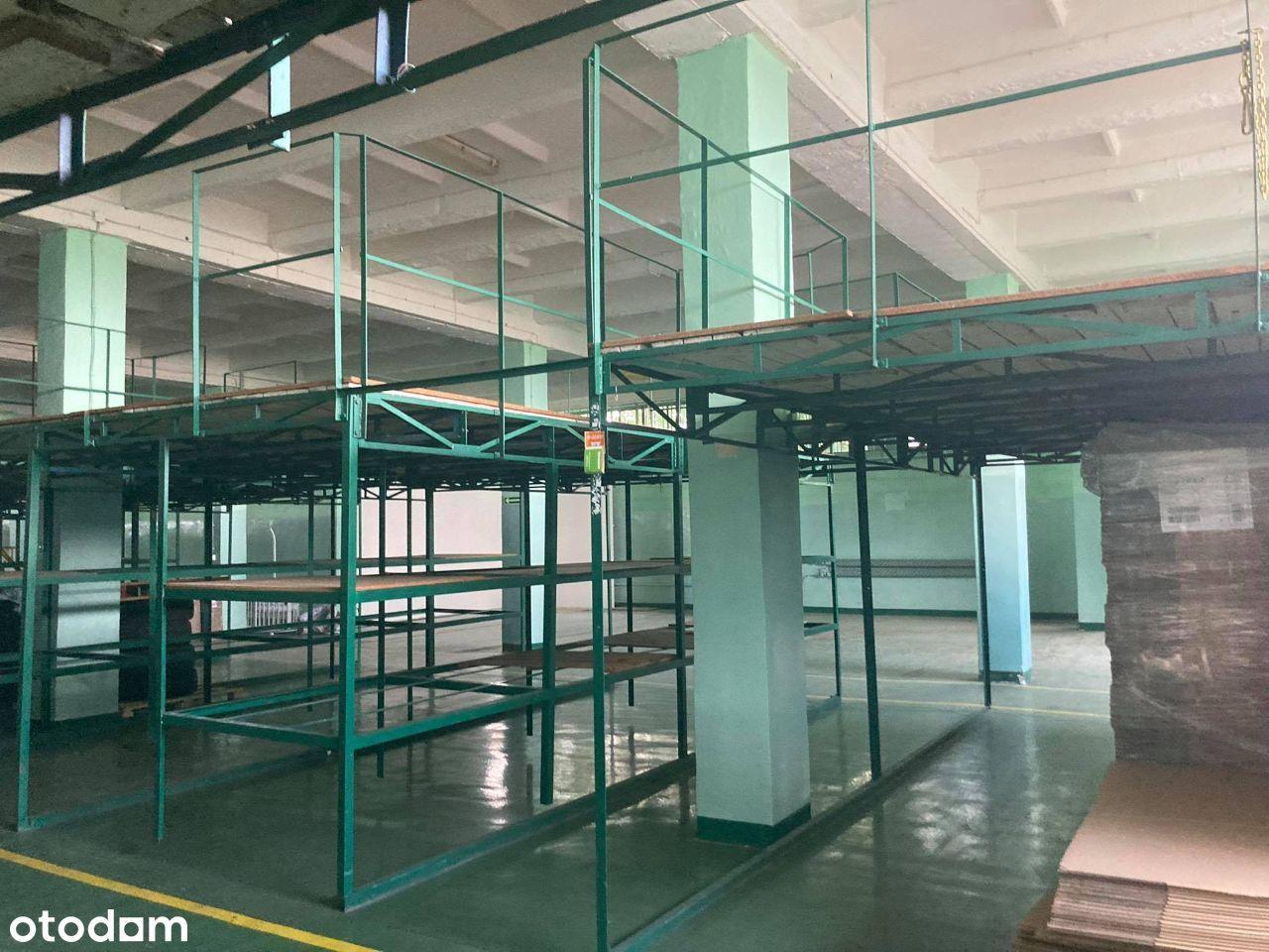 Magazyny 800 m2, 1600 m2, 3 200m2