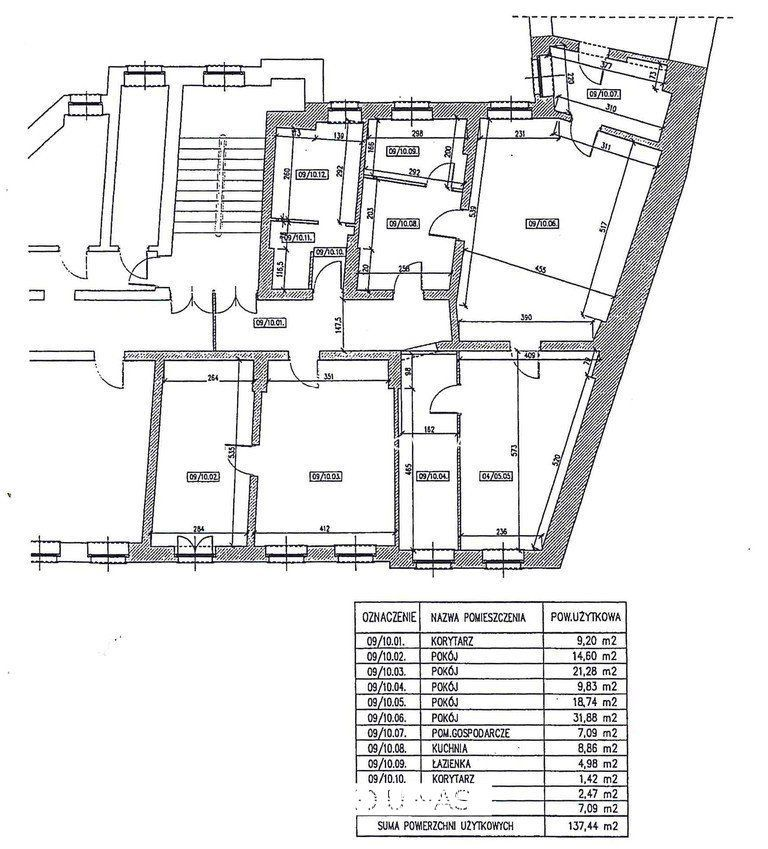 2 wejścia, do podziału na 2-3 mieszkania, Łazarz