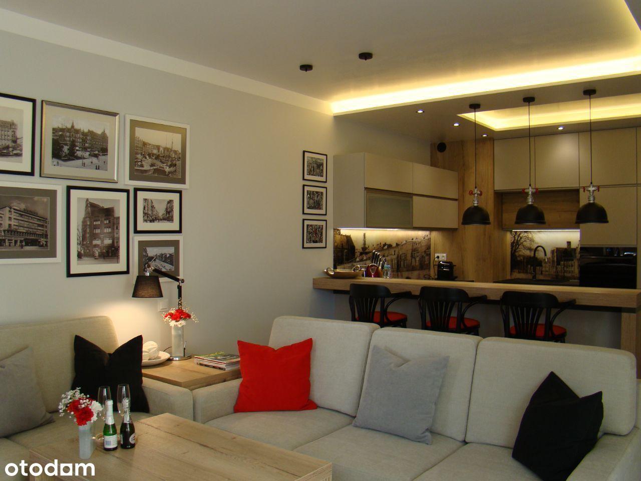 Apartament w centrum 50 m2 - w spokojnej okolicy