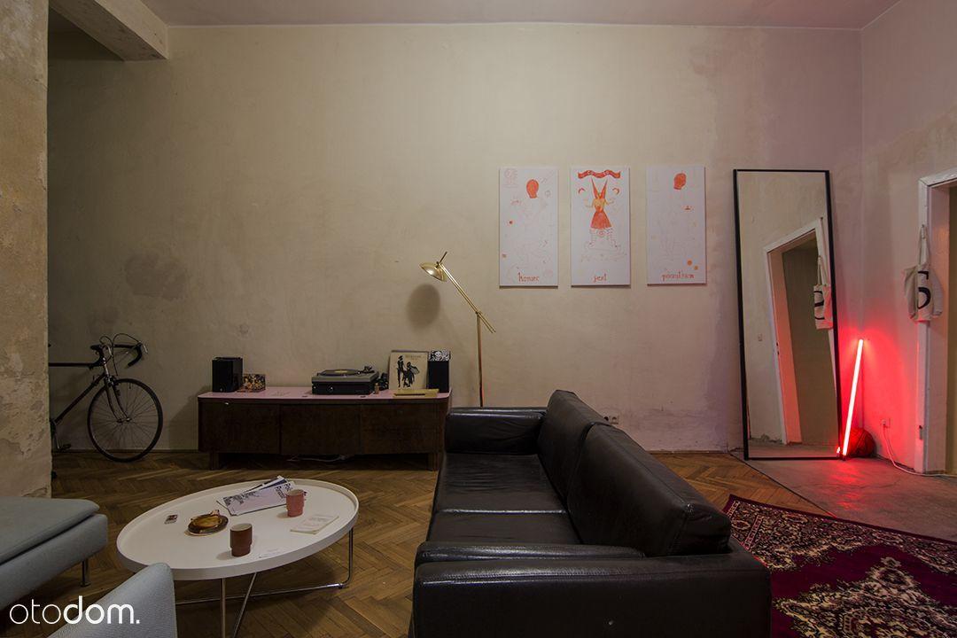 Artystyczne mieszkanie w stylu berlińskim 50m2