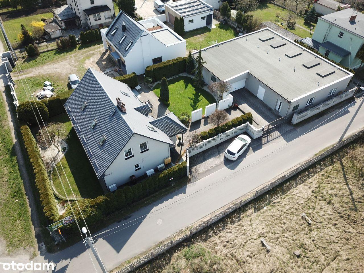 Dom i budynek na działalność gospodarczą - Gniezno