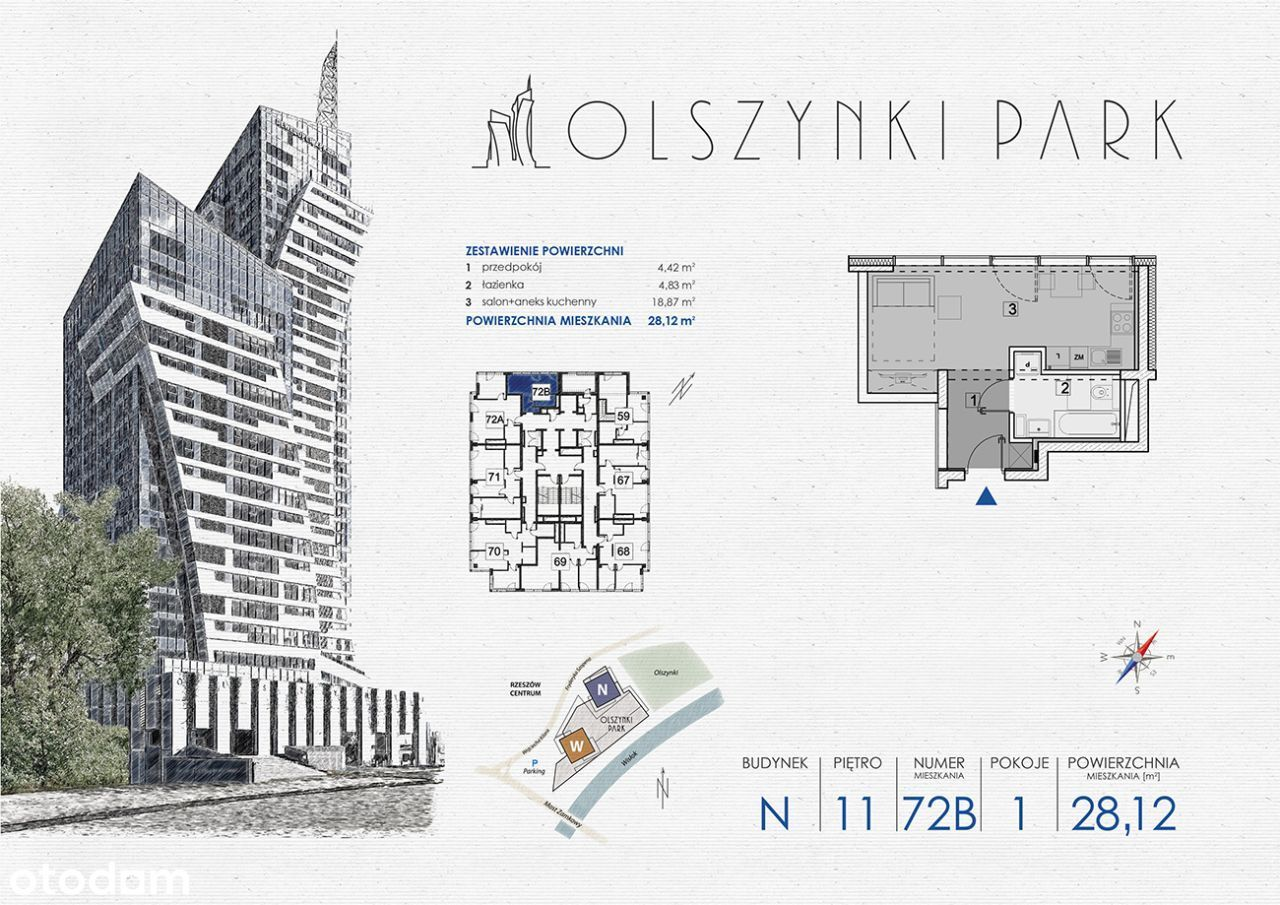 Olszynki Park - Apartament N72B
