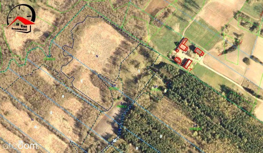 Działka rolno- leśna Prąd i miejsce na siedlisko