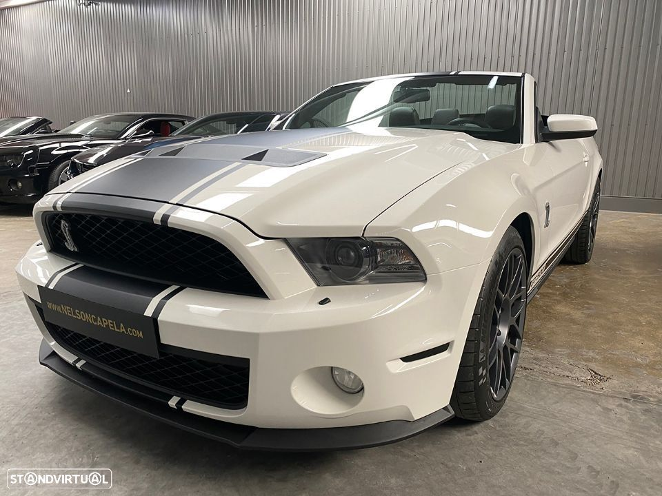 Ford Mustang GT500 Cabrio 5.4 V8 Supercharged - 15