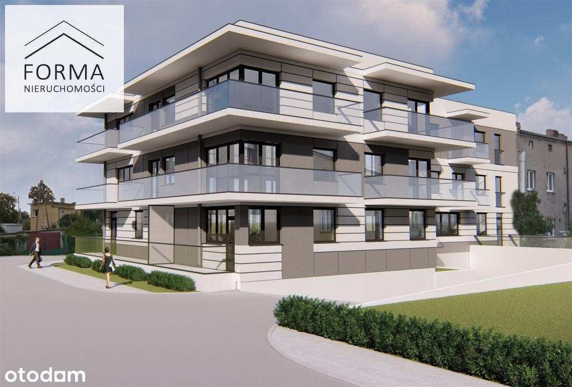 3 pokojowe mieszkanie w nowym bloku 74,38 m2