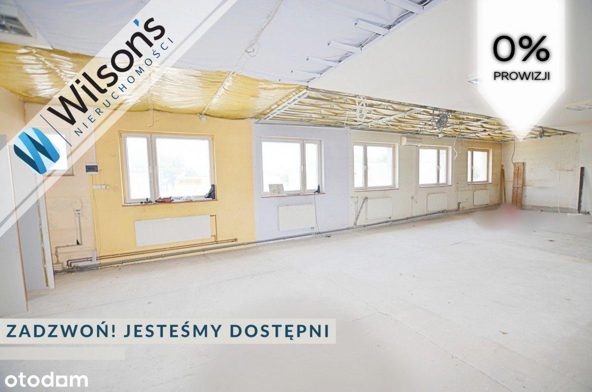 Wolna powierzchnia 600 m2 Łomianki Centralne