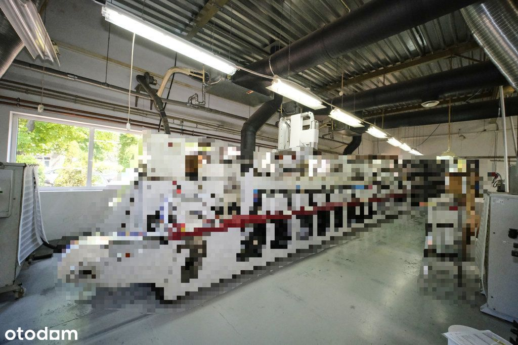 Hala produkcyjno-magazynowa, 2100 m2, centrum