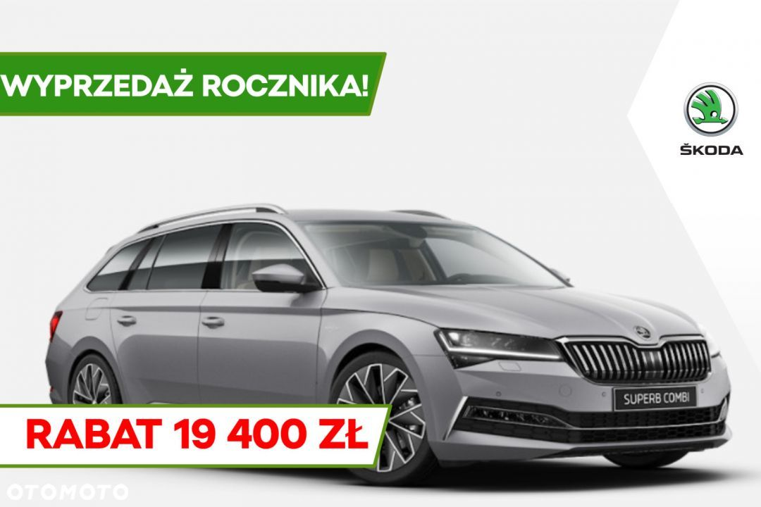Škoda Superb Combi Laurin&Klement 2.0 TDI 200KM 4x4 DSG *Rata od 1 628 zł/mc* - 1
