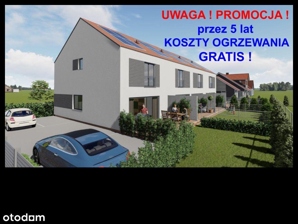 Duże mieszkanie z ogrodem-5 LAT OGRZEWANIE GRATIS!