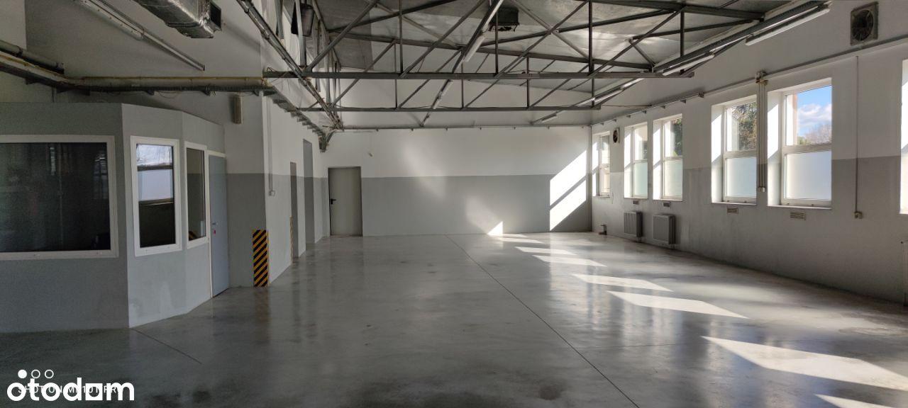 Hala (Produkcja, Magazyn) 460 m2 zaplecze soc.biu