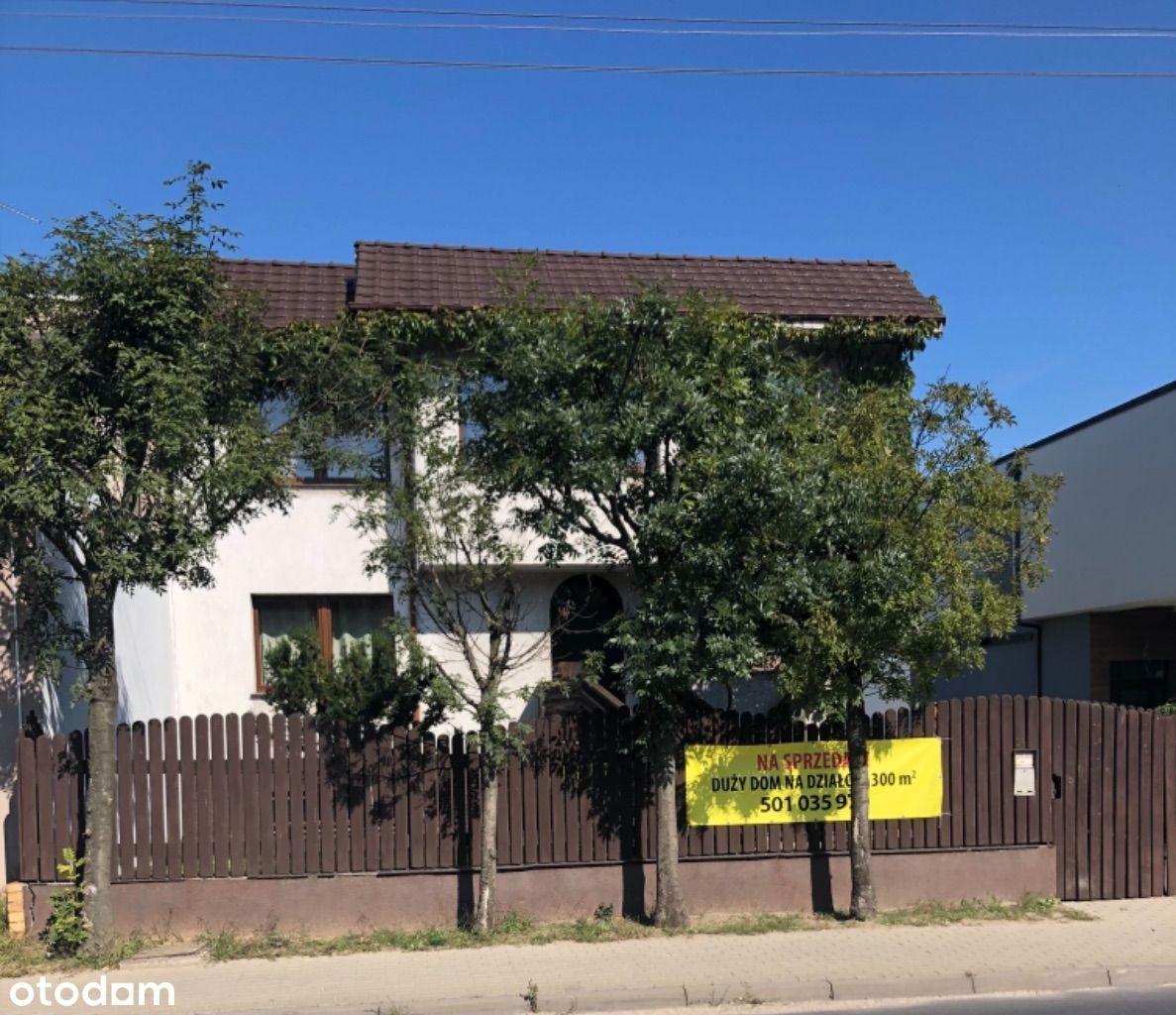 Dom 300 m POD FIRMĘ z działka 1250 z garażami